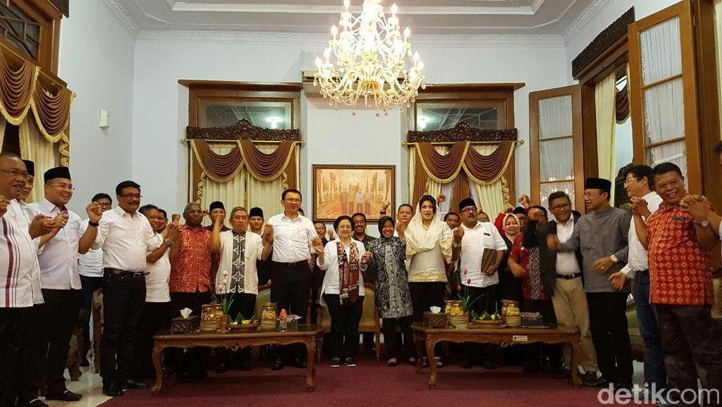 Begini Cerita Ahok Bisa Diajak Megawati Nyekar ke Blitar