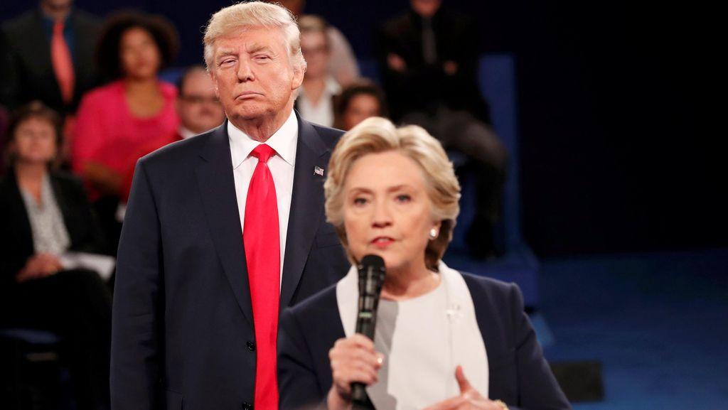 Donald Trump Ungguli Hillary Clinton dalam Polling Baru Usai Debat Terakhir