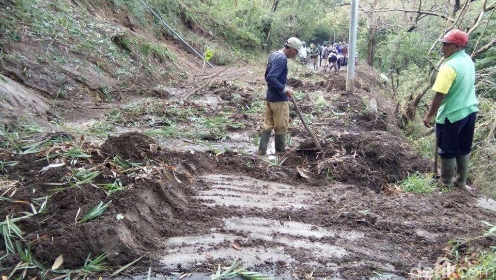 9 Kecamatan di Mojokerto Dihantui Tanah Longsor dan Banjir
