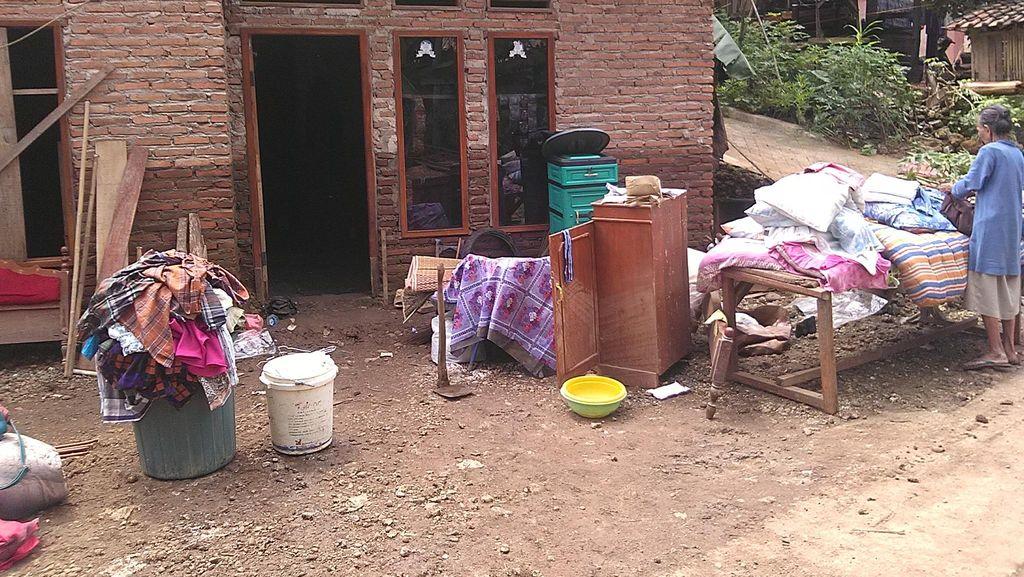 Banjir Surut, Warga Pangandaran Kini Rasakan Trauma
