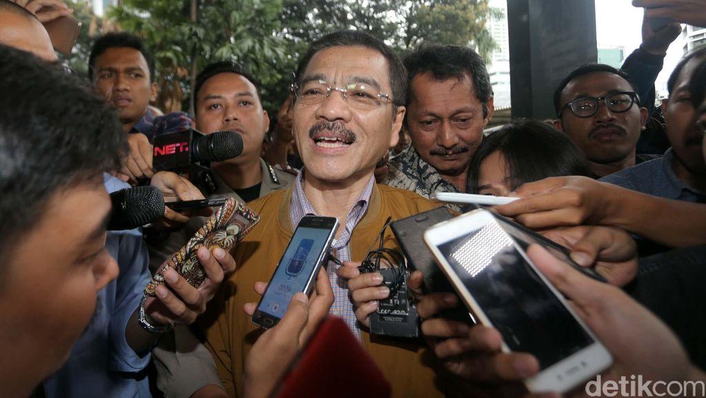 Kembali Diperiksa KPK, Gamawan Fauzi: Tiba-tiba Ada Kabar Kerugian Rp 1,1 T