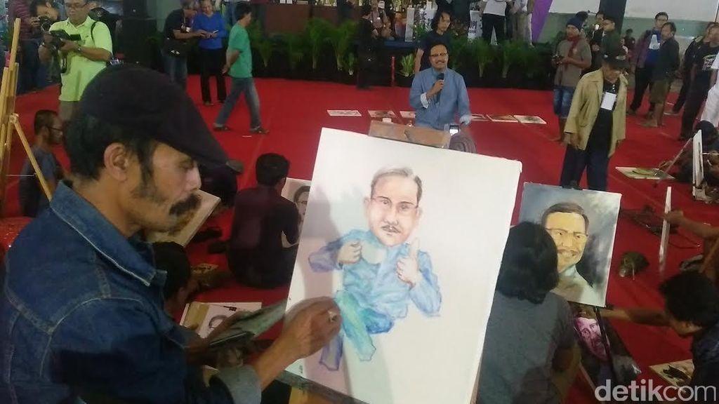 Gus Ipul Berharap Pasar Seni Lukis Bisa Menjadi Penggerak Ekonomi Rakyat