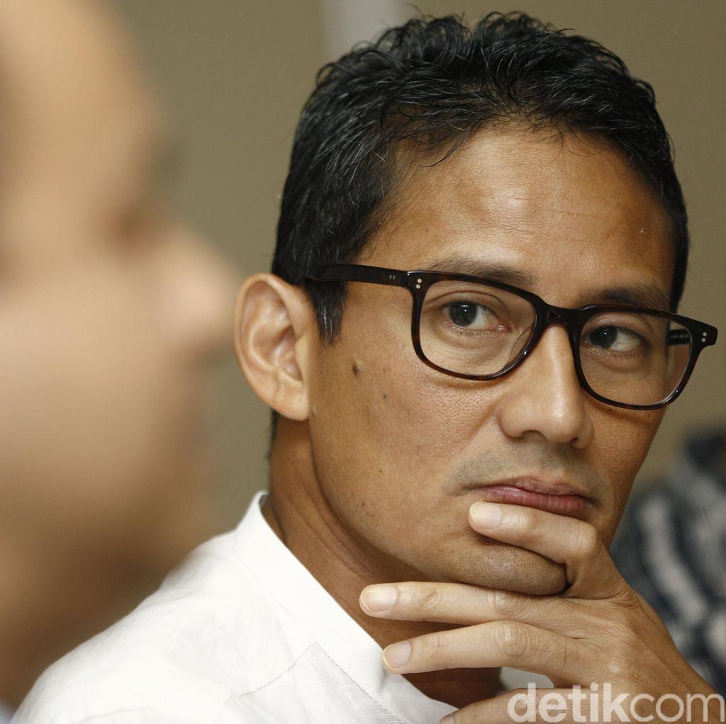 Sandiaga Uno: Pilkada Bukan Lapangan untuk Saling Jegal