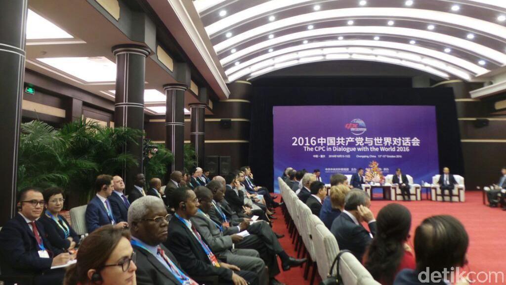Golkar dan Delegasi Parpol Dunia Bahas KebangkitanJalur Sutra Abad 21