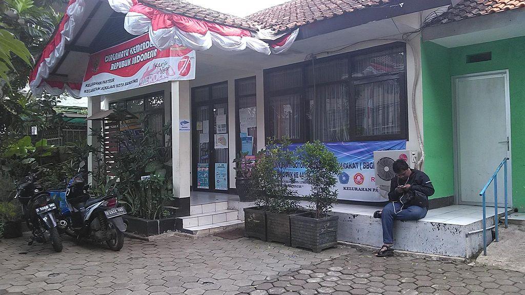 Pencuri Gondol Barang Elektronik di Kantor Kelurahan Pasteur Bandung