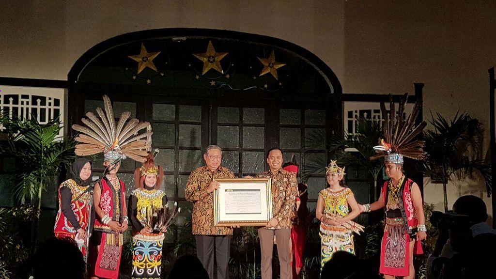 Dinobatkan Jadi Bapak Permuseuman Indonesia, SBY Bicara Cinta Sejarah