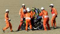 Akibat Crash di Motegi, Jari Rossi Patah