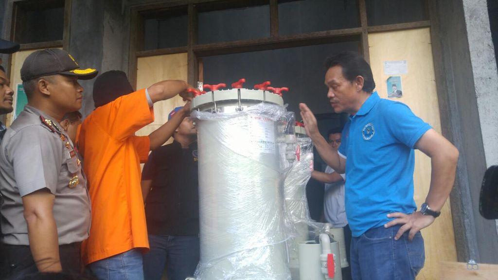Modus Penyelundupan 67 Kg Sabu di Demak: Dimasukkan ke Mesin Penyaring Air