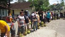 Warga Serbu Operasi Pasar Elpiji 3 Kg di Bantul