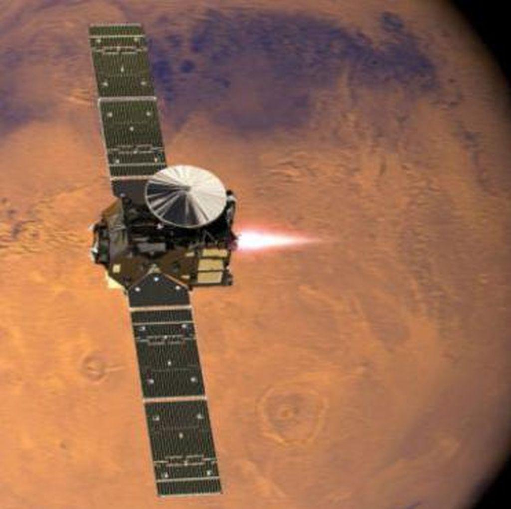 Hilang Kontak, Nasib Schiaparelli yang akan Mendarat di Mars Belum Jelas