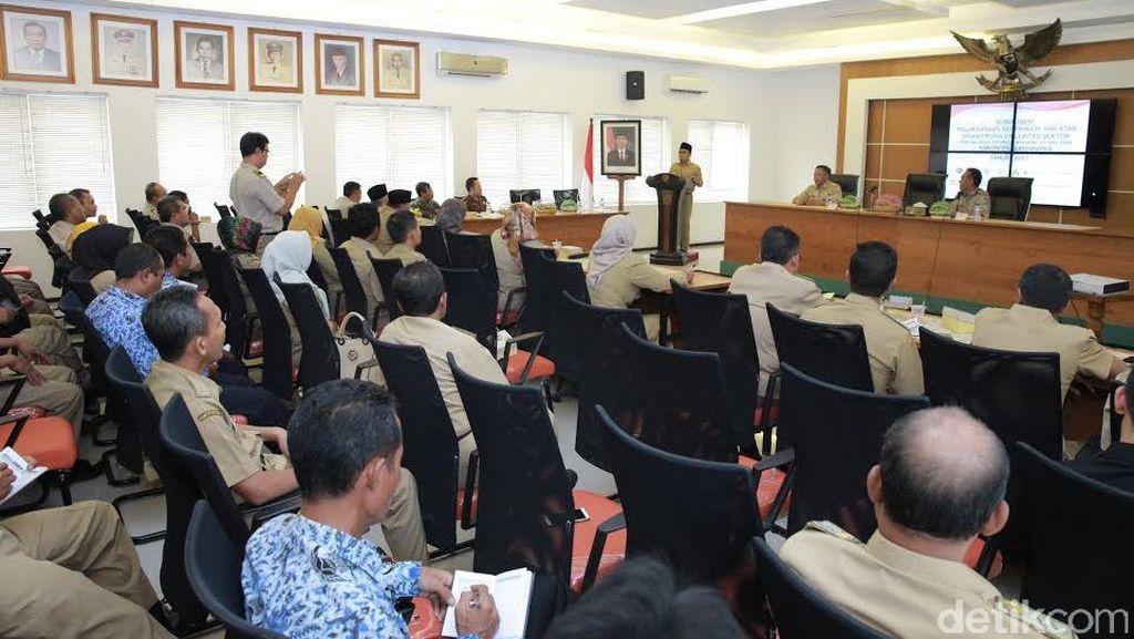 Banyuwangi Target Tuntaskan 13 Ribu Sertifikat Tanah Prona
