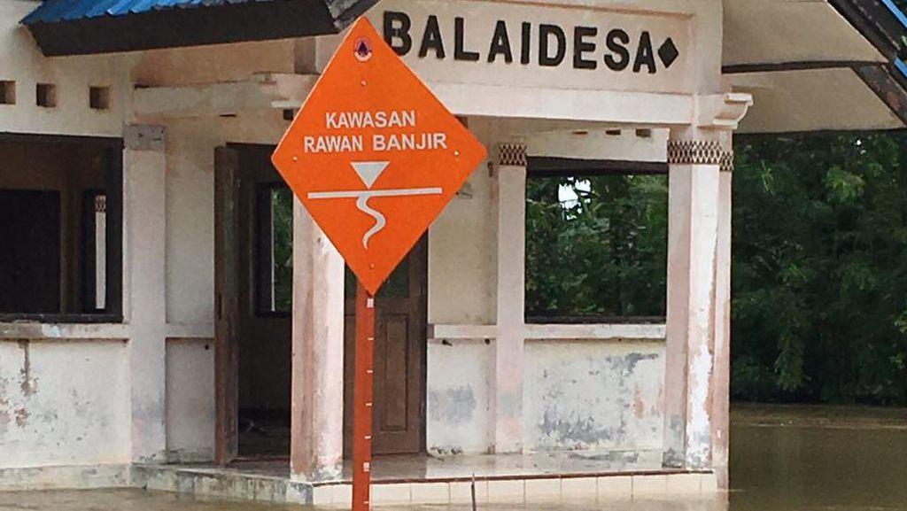 8 Kecamatan di Aceh Jaya Terendam Banjir, Sejumlah Orang Mengungsi