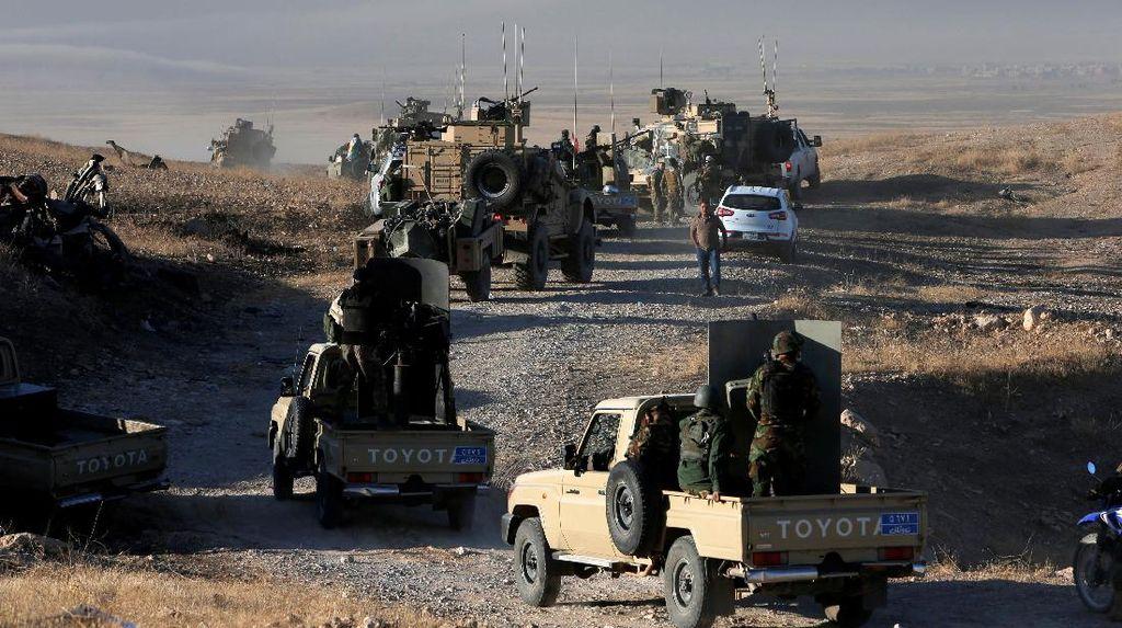 Operasi Merebut Mosul dari ISIS Dimulai, PM Irak: Waktu Kemenangan Telah Tiba