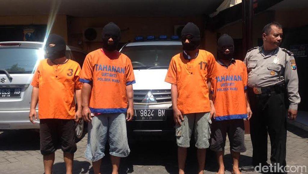 Komplotan Penggelapan Mobil Ditangkap, Satu Pelaku Seorang Sekdes