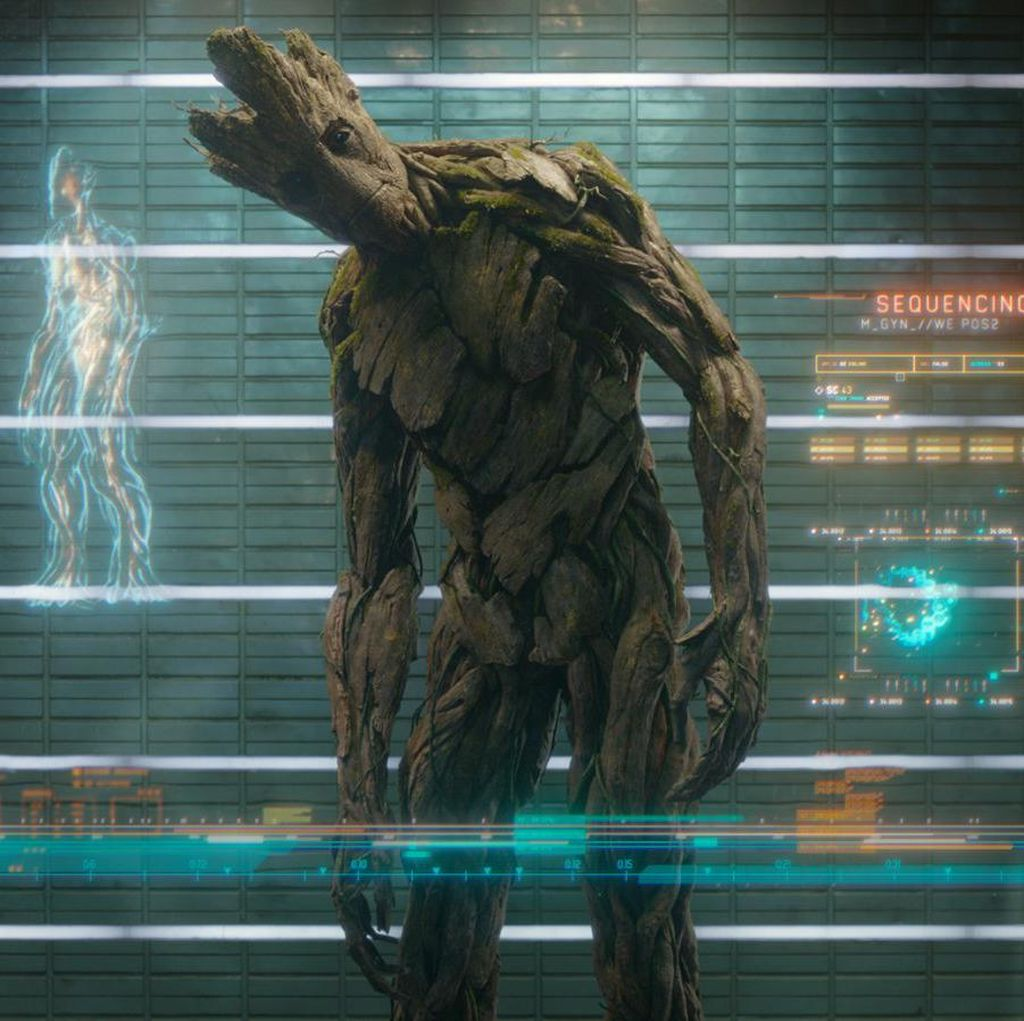 Groot Bakal Tampil Menggemaskan di Guardians of the Galaxy Vol. 2
