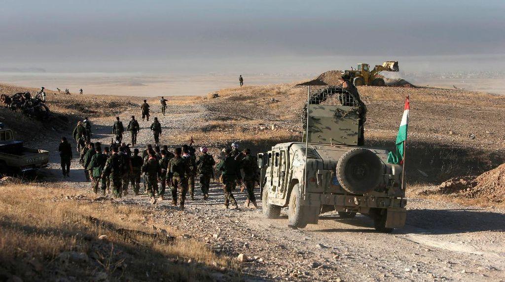 Operasi Merebut Mosul Dimulai, Para Gembong ISIS dan Istri-istri Angkat Kaki