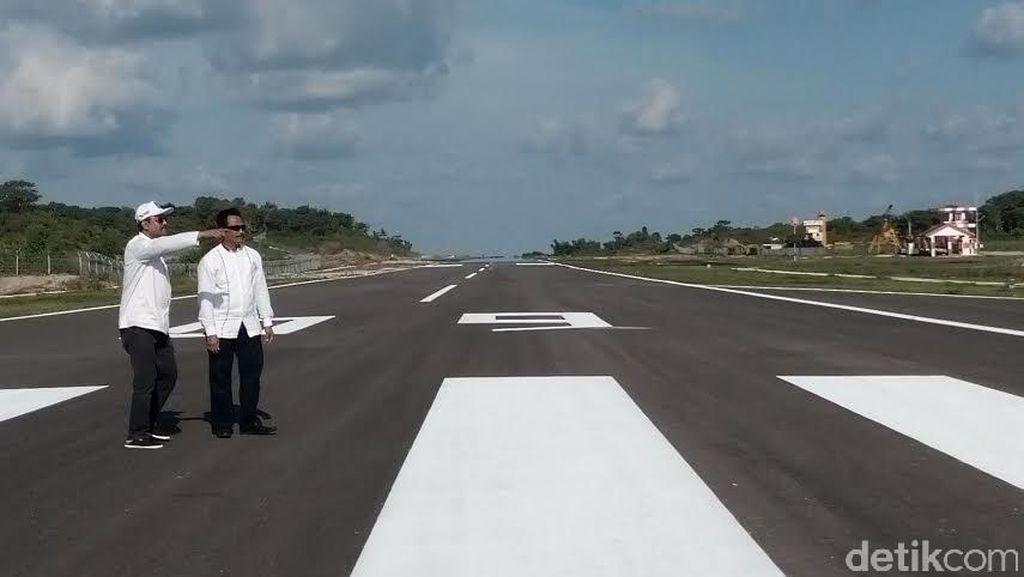 Landasan Pacu Bandara Harun Thohir Bawean akan Diperpanjang 1.500 Meter