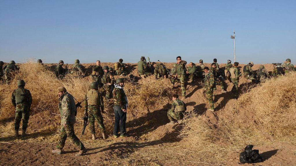 Menhan Prancis Ingatkan Operasi Merebut Mosul Bisa Berlangsung Berbulan-bulan