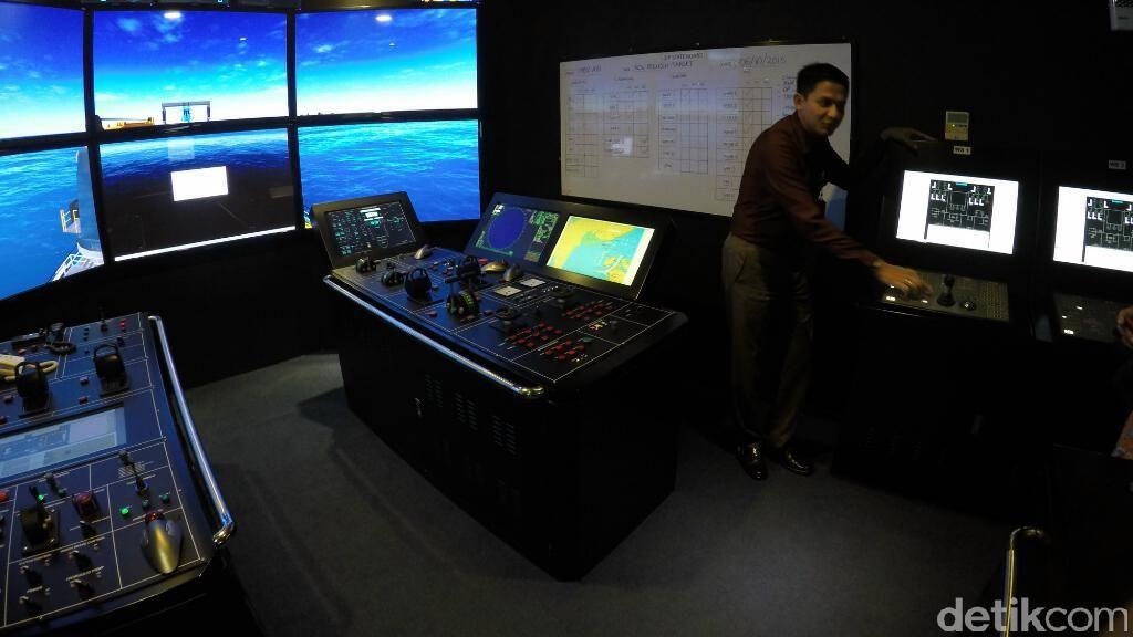 Indonesia Punya Simulator Dynamic Positioning Agar Pelaut Tak Usah ke Luar Negeri