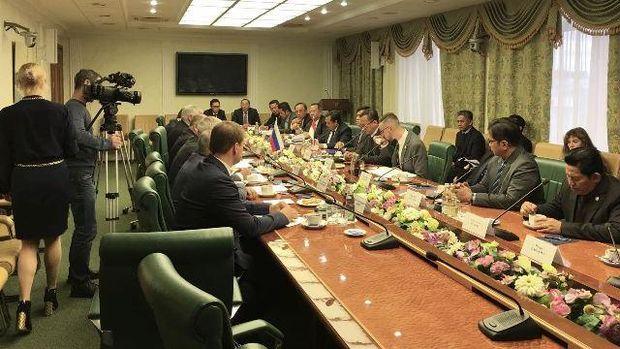 Pertemuan Delegasi Komisi IV Dewan Perwakilan Rakyat dengan Dewan Federasi Rusia