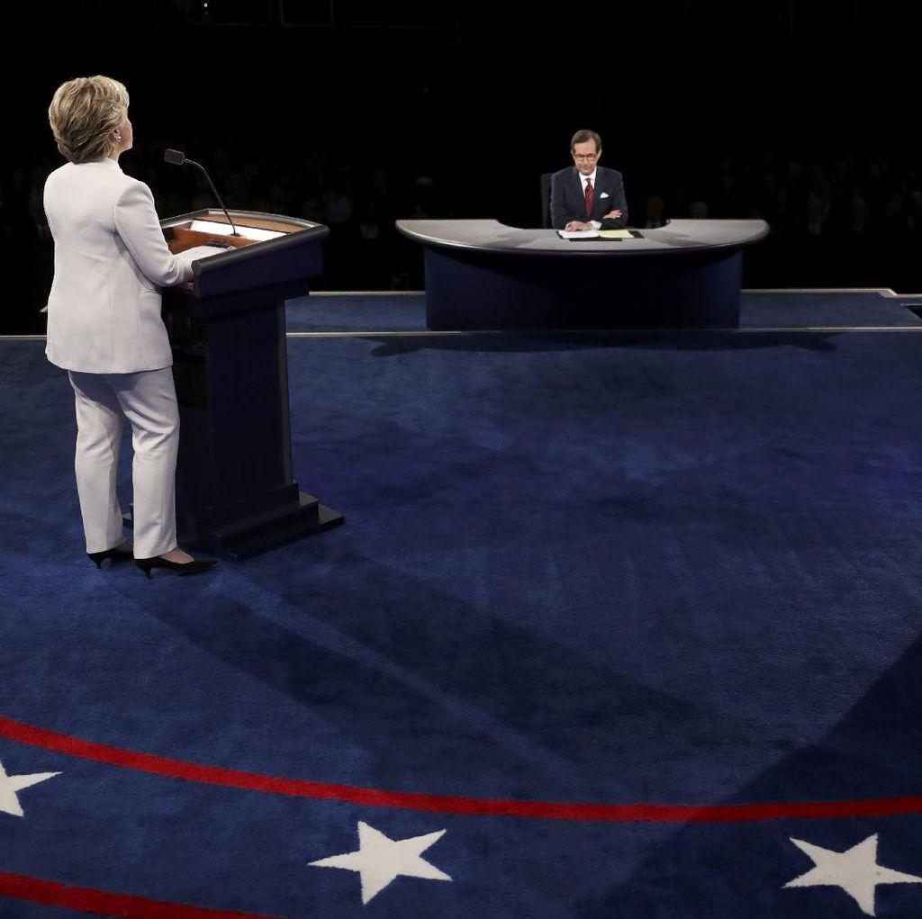 Debat Trump-Hillary Ditonton 71,6 Juta Orang, Terbanyak Ketiga dalam Sejarah AS