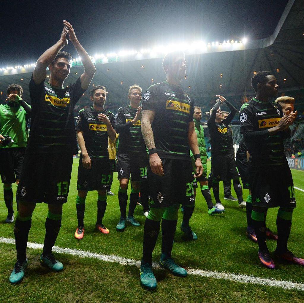 Kemenangan Pertama di Liga Champions Bikin Gladbach Pede Lagi