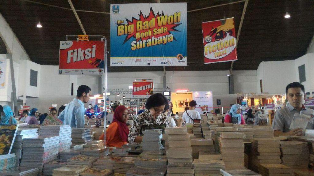 Dukung Gerakan Membaca, Big Bad Wolf Book Sale Diskon 2 Juta Buku