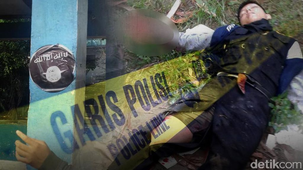 Penyerang Kapolsek Tangerang Pernah Jenguk Napi Teroris Maman di Nusakambangan