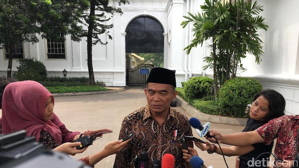 Muhadjir Lapor ke Jokowi Potong Anggaran di Kemendikbud Rp 5 T