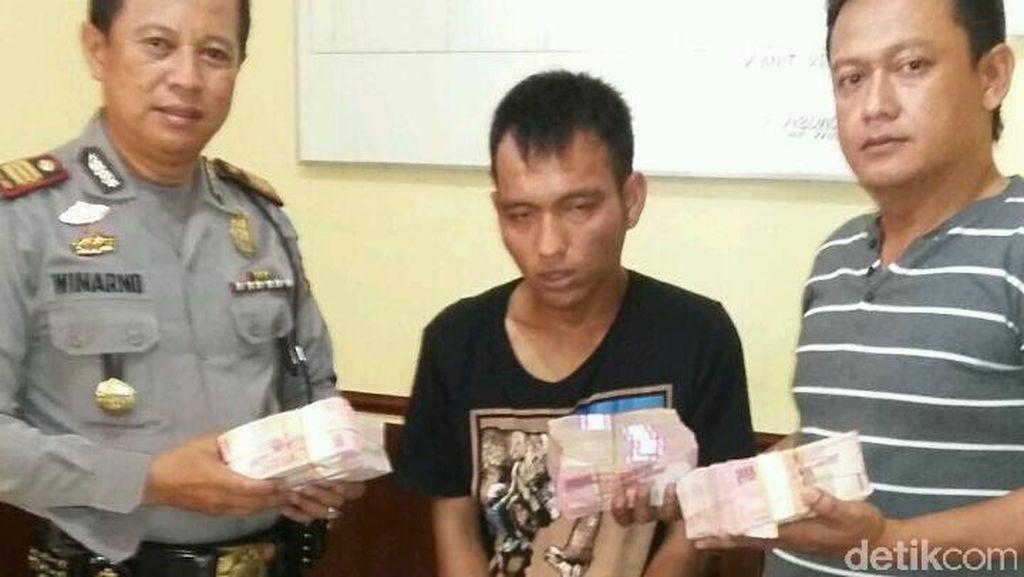 Pujian untuk Aiptu Efendi, Polisi yang Lawan 4 Perampok Dana Desa Rp 278 Juta