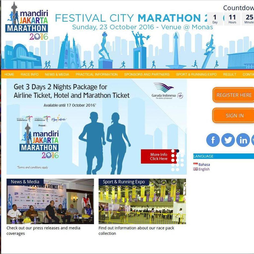 Ada Jakarta Marathon, Sejumlah Gerbang Tol Dalam Kota Ditutup Pukul 5 Pagi