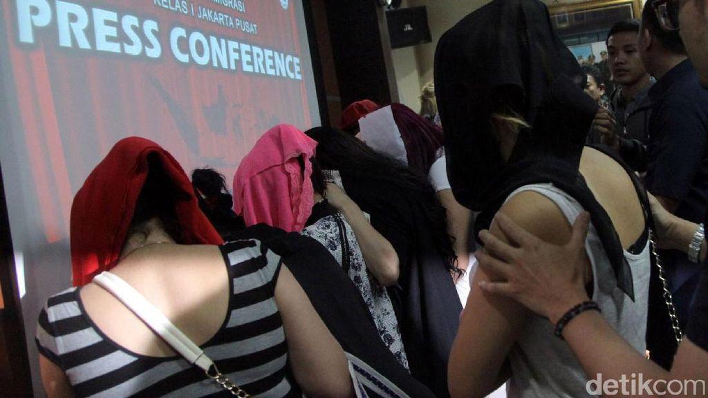 PSK Maroko yang Diamankan Di Jakarta Pusat Pasang Tarif Rp 5 Juta