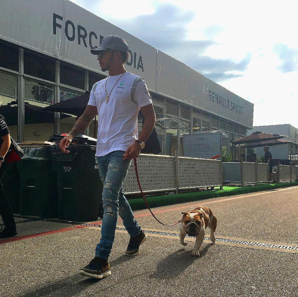 Hamilton Siap Jika Gelar Juara Dunianya Lepas