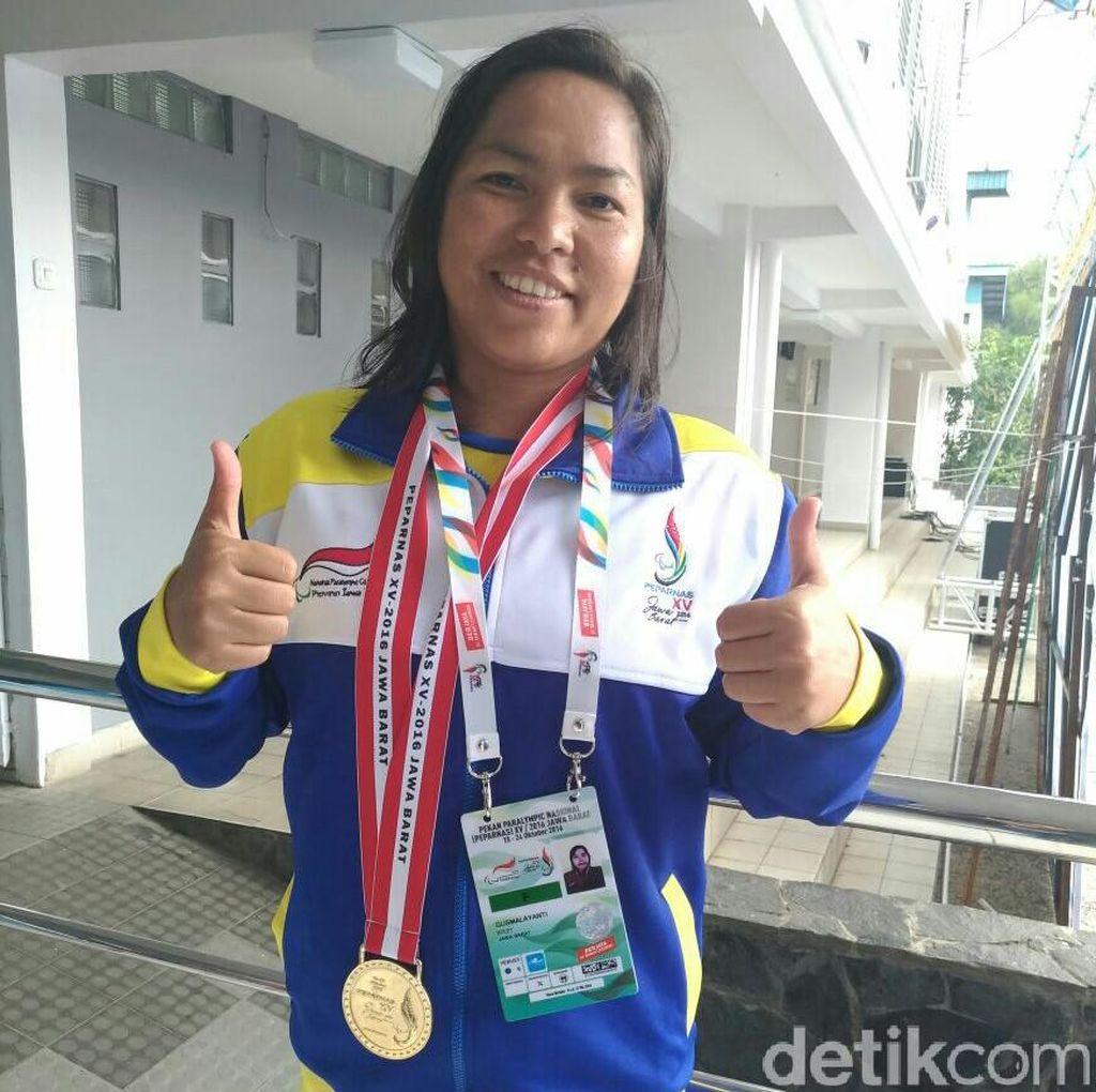 Gusmalayanti: Dari Pabrik Garmen ke Medali Emas Peparnas