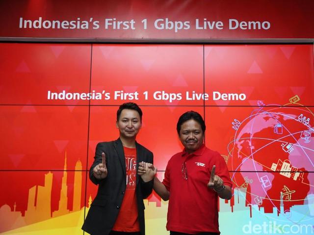 Telkomsel Uji Internet 1 Gbps di Mal Pondok Indah