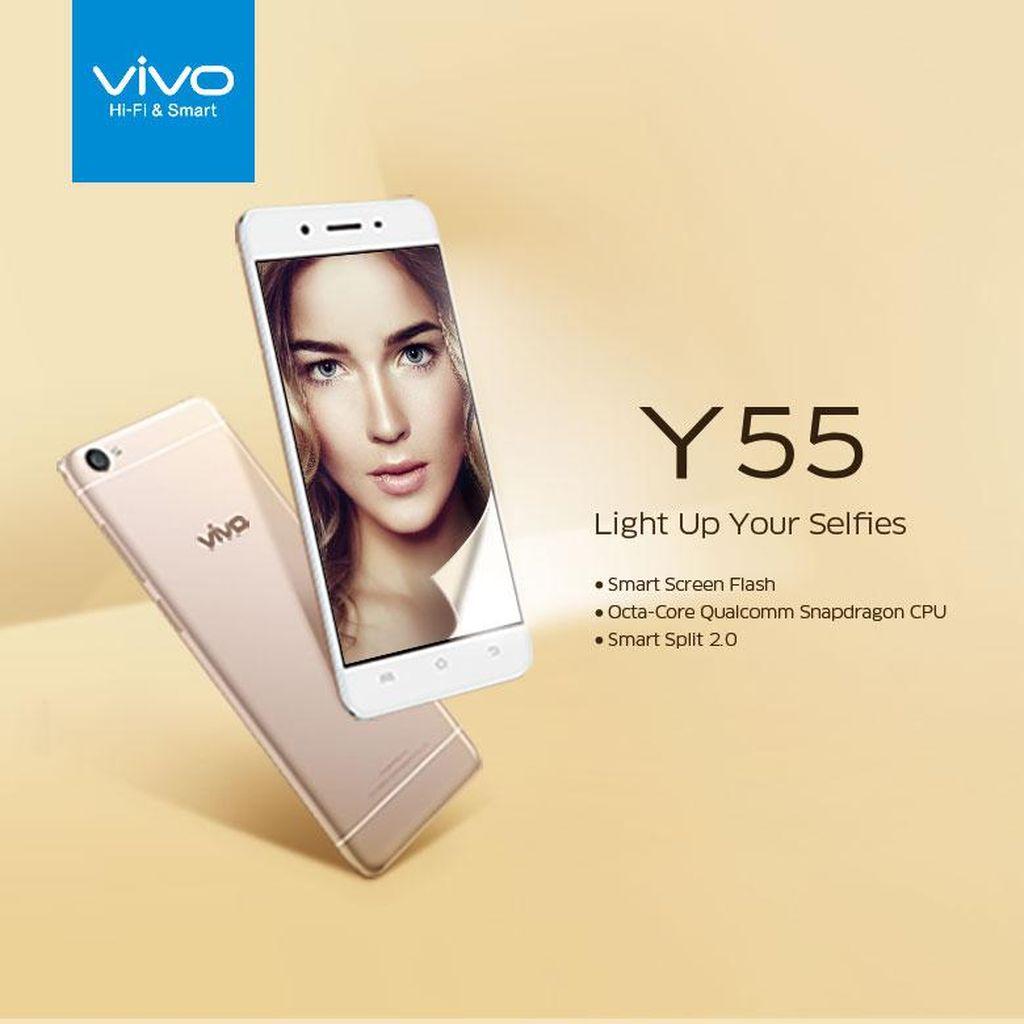 Vivo Y55 Hadirkan Desain Mewah dan Elegan untuk Sempurnakan Penampilan Anda