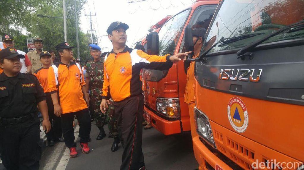 BPBD Semarang Gelar Apel Kesiapan Antisipasi Potensi Bencana