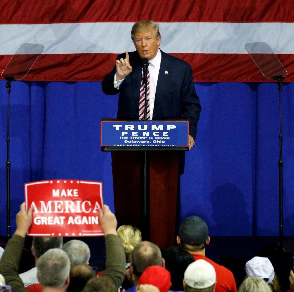 Donald Trump: Saya Akan Menerima Hasil Pilpres Jika Saya Menang
