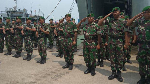 TNI AD Kirimkan 3 Tank Leopard ke Natuna