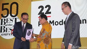 Modernland Realty Raih Forbes Indonesia Awards