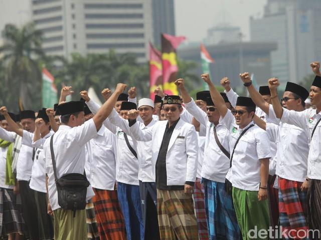 Upacara Peringatan Hari Santri di Jakarta
