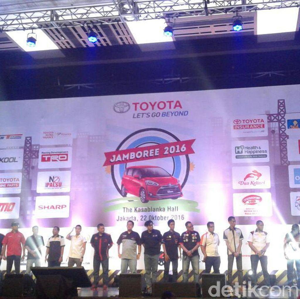 Temu Kangen Toyota Owner Club Digelar di Jakarta