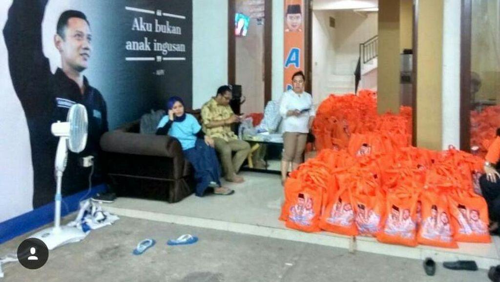 Beredar Goody Bag Sembako AHY-Sylvi, Agus: Itu Semangat Relawan