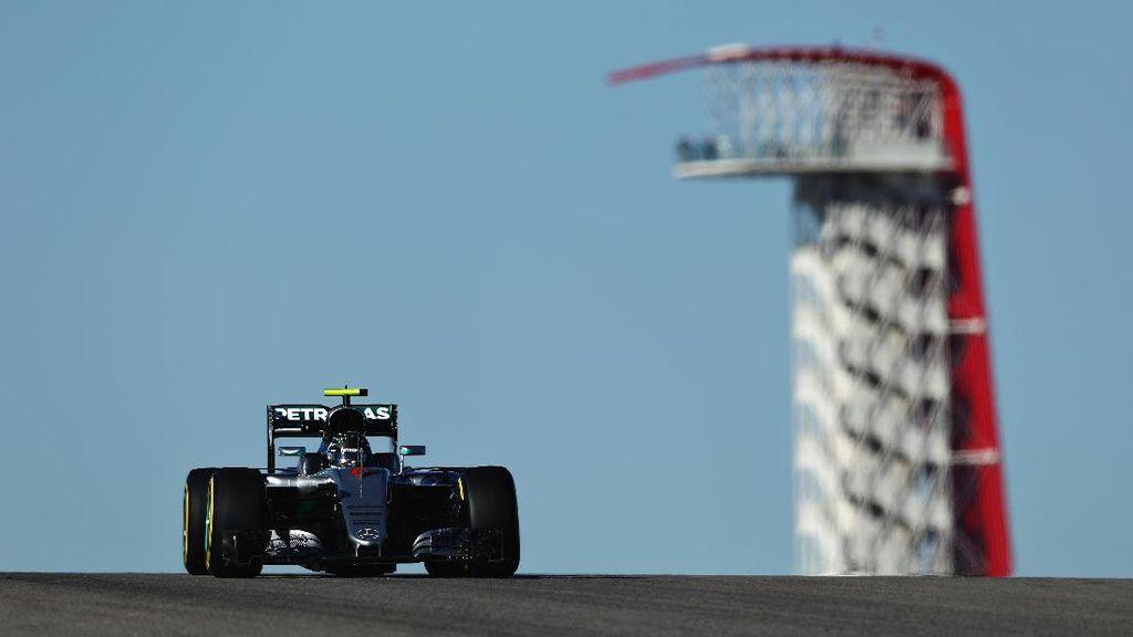 Rosberg Terdepan, Ricciardo Kedua