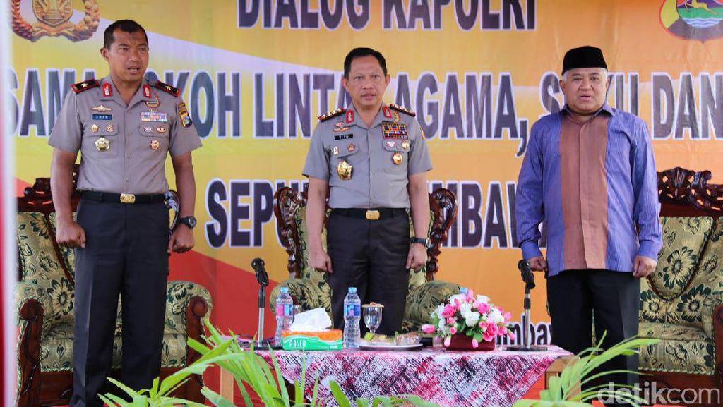 Ke NTB, Kapolri Berdialog dengan Tokoh Lintas Agama dan Suku di Sumbawa
