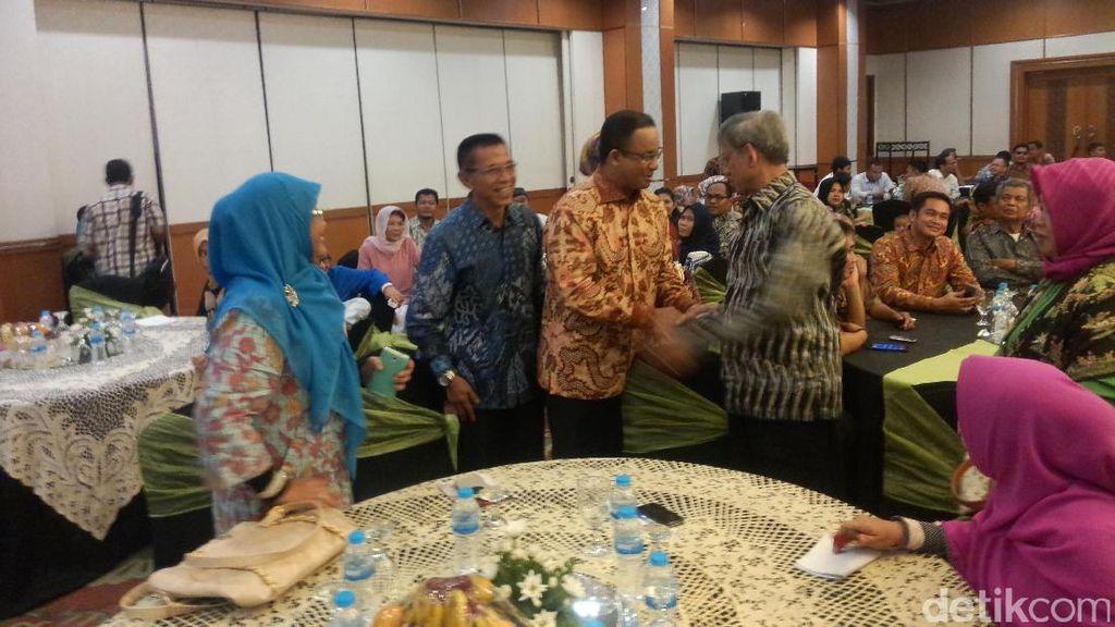 Hadiri Pelantikan Pengurus KAHMI Jakarta, Anies Disambut Yel-yel Dukungan