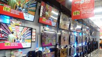 Tambahan Diskon 5% LED TV Polytron, Akari, dan TCL di Transmart Carrefour