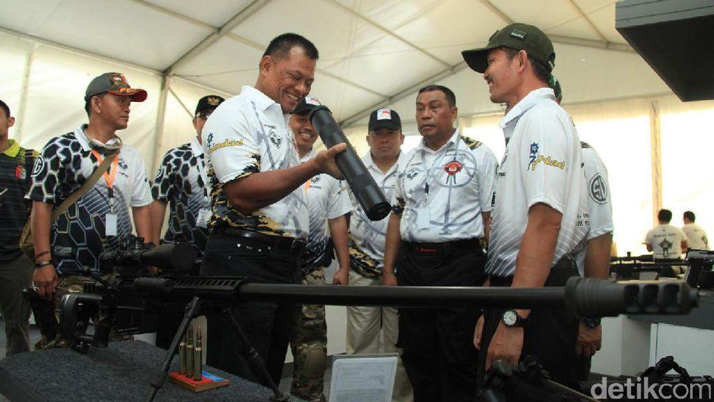 Panglima TNI Larang Pembelian Senjata Organik Luar Negeri untuk Prajurit