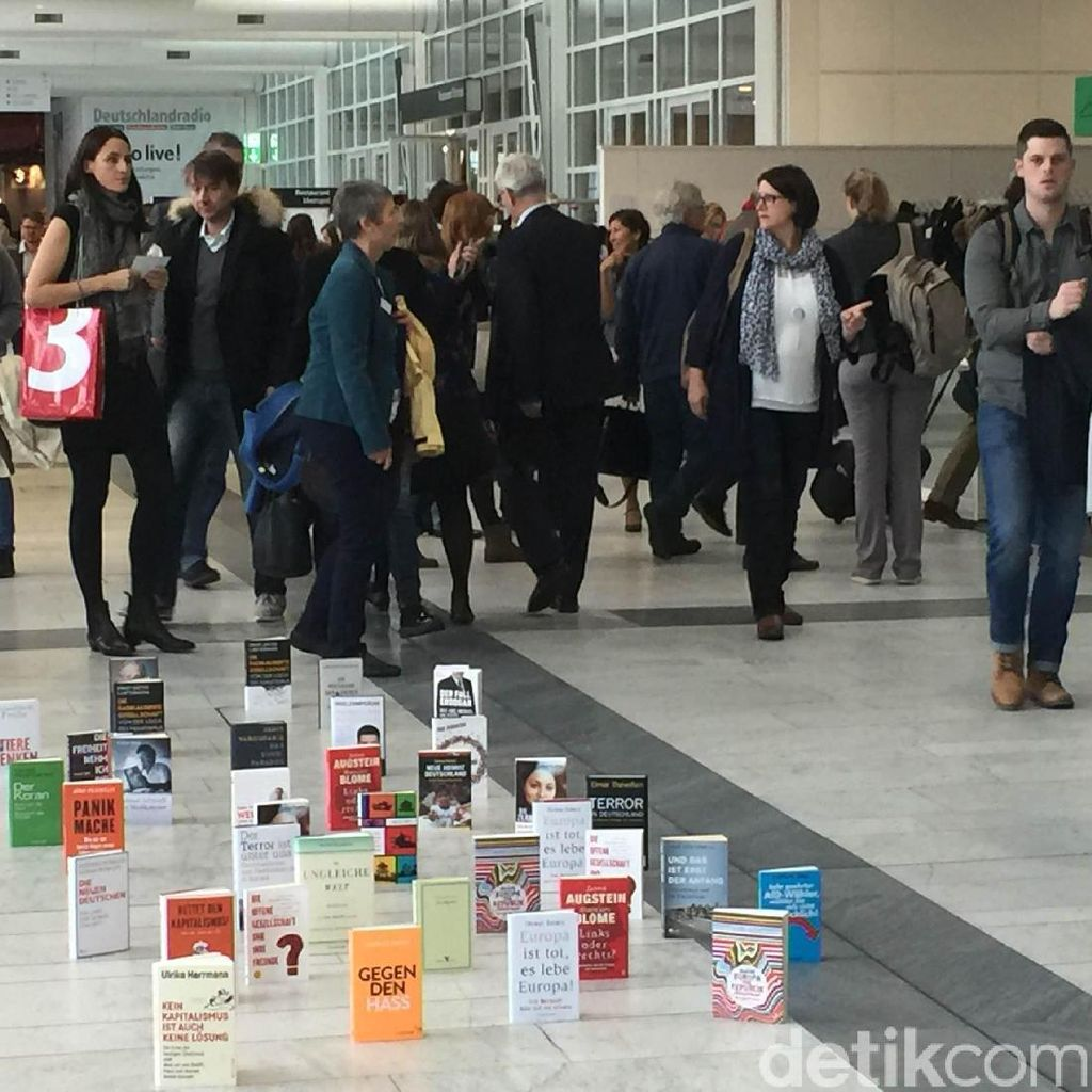 Frankfurt Book Fair 2016, Jangan Remehkan Cover Buku