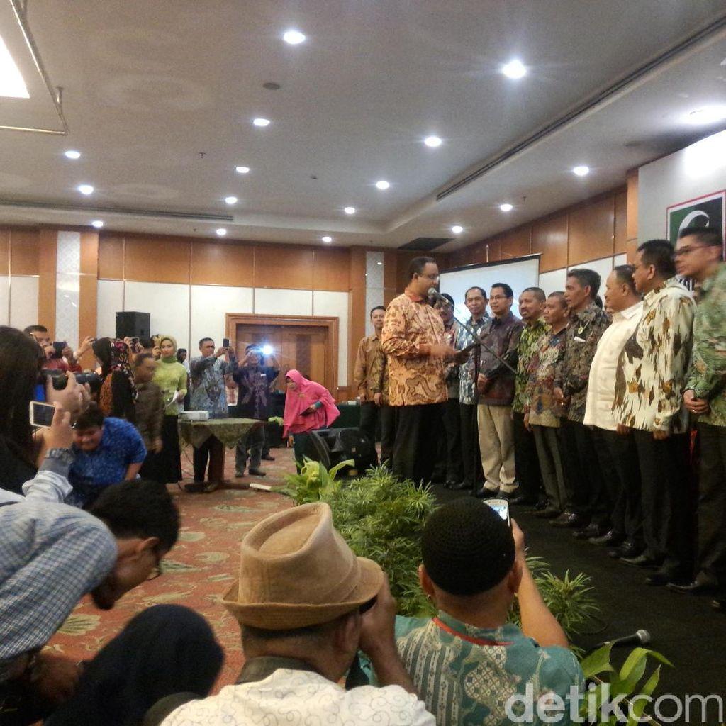 Anies Lantik Pengurus KAHMI Jakarta, Sylviana Murni Tidak Hadir